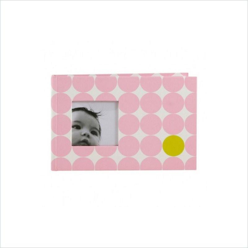 Pearhead Brag Book in Dots Pink