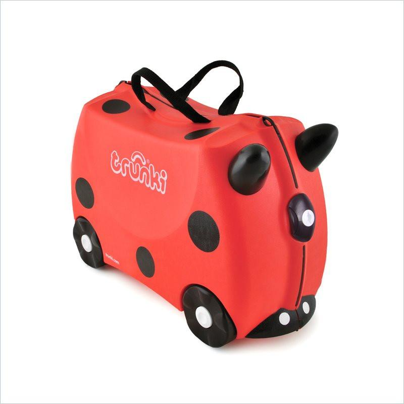 Trunki Children's Ride on Suitcase in Harley Ladybug