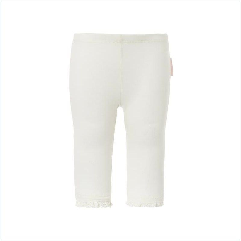 Noppies Girl Legging Ankle Lyn in Off White