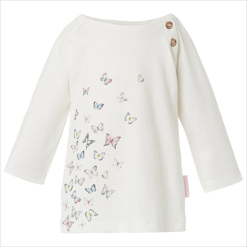 Noppies Girl Dress Lyn Butterfly in Off White
