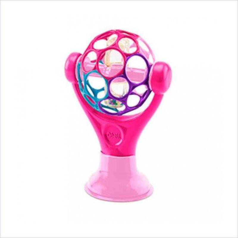 Rhino Toys Oball Grip & Play Suction Cup Toy in Pink