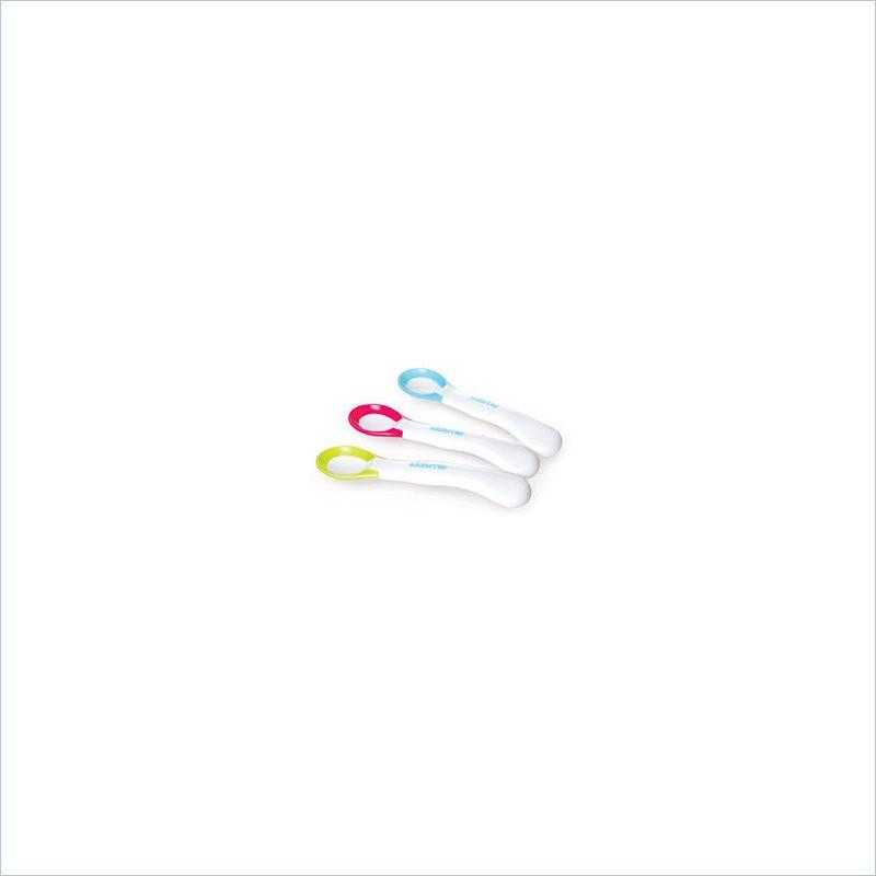 Kidsme Ideal Temperature Spoon in Lime(Set of 2)