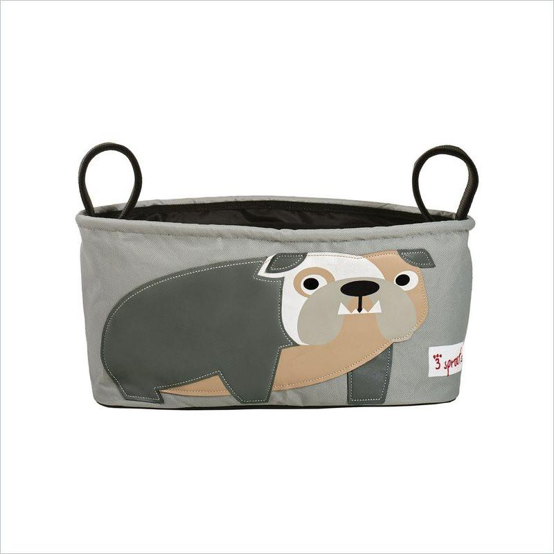 3 Sprouts Stroller Organizer in Bulldog