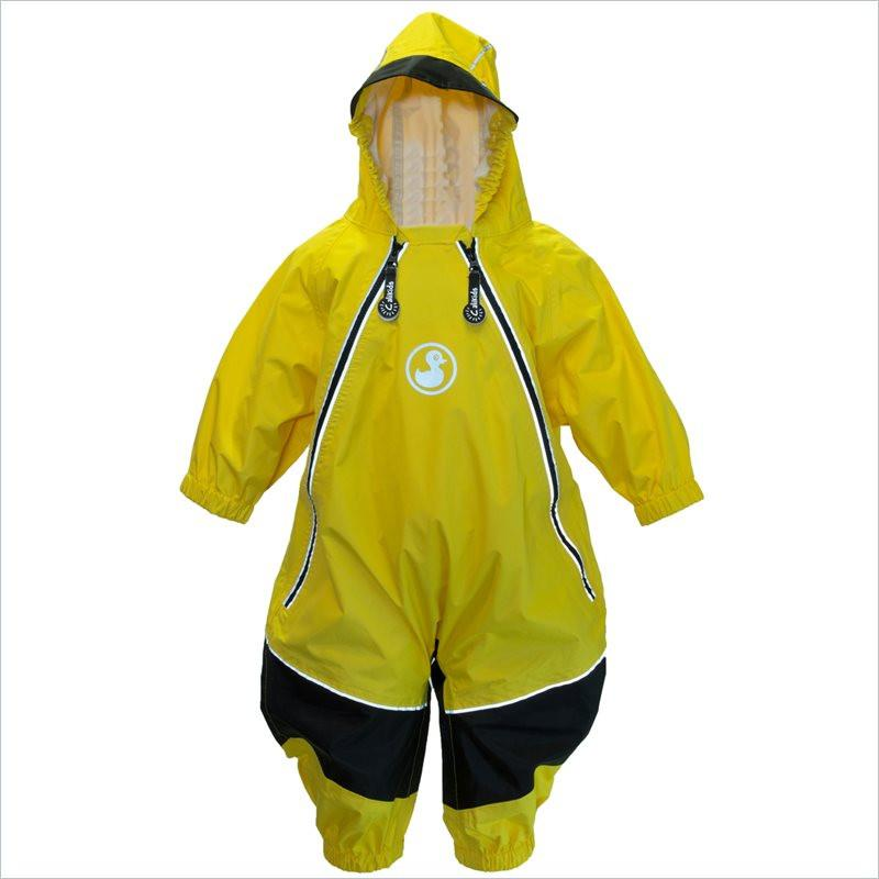 Calikids Waterproof Two Season Rainsuit in Yellow
