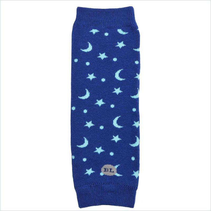 BabyLegs Organic Newborn Legwarmers in Night Nighy