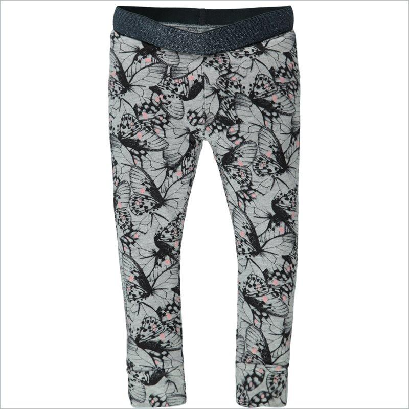 Tumble N Dry Janna Girls Lo Pants in Light Grey Melange