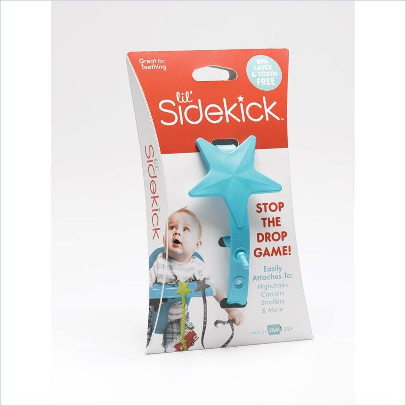 Lil' Sidekick Safe Utensil and Toy Leash in Turquoise