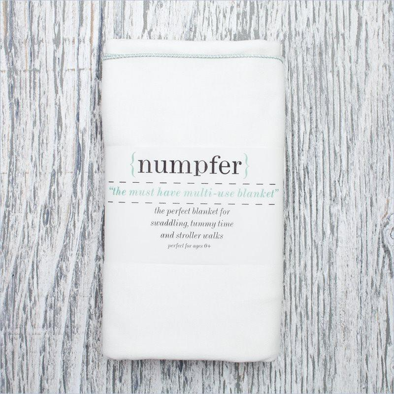 Numpfer Must Have Multi-Use Blanket in Seafoam