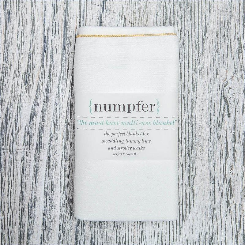 Numpfer Must Have Multi-Use Blanket in Mustard
