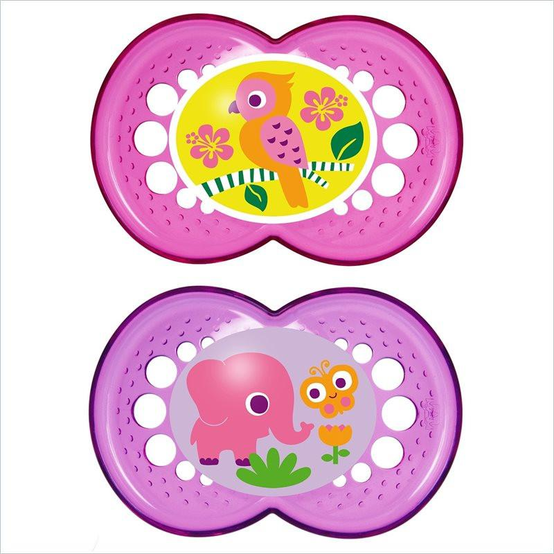 Mam Crystal Pacifier Girl - 6+ Months