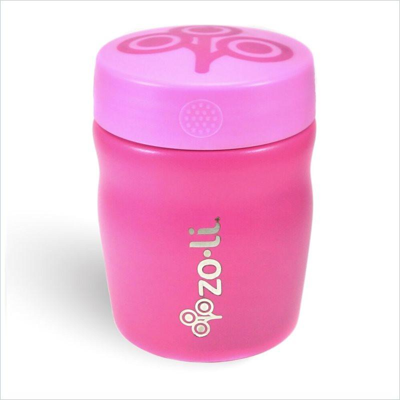 Zoli Pow Dine 12Oz Vacuum Insulated Food Jar in Pink