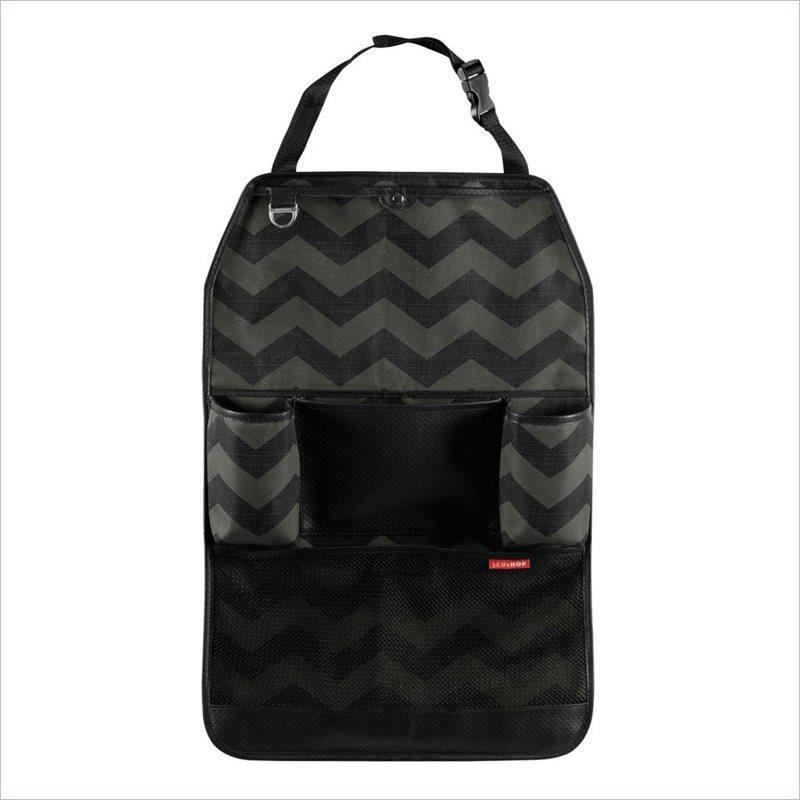 Skip Hop Auto Accessories Backseat Organizer in Tonal Chevron