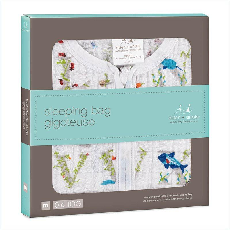 Aden + Anais Classic Sleeping Bag in Paper Tales