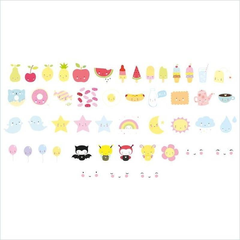 Lightbox Letter Set: Kawaii