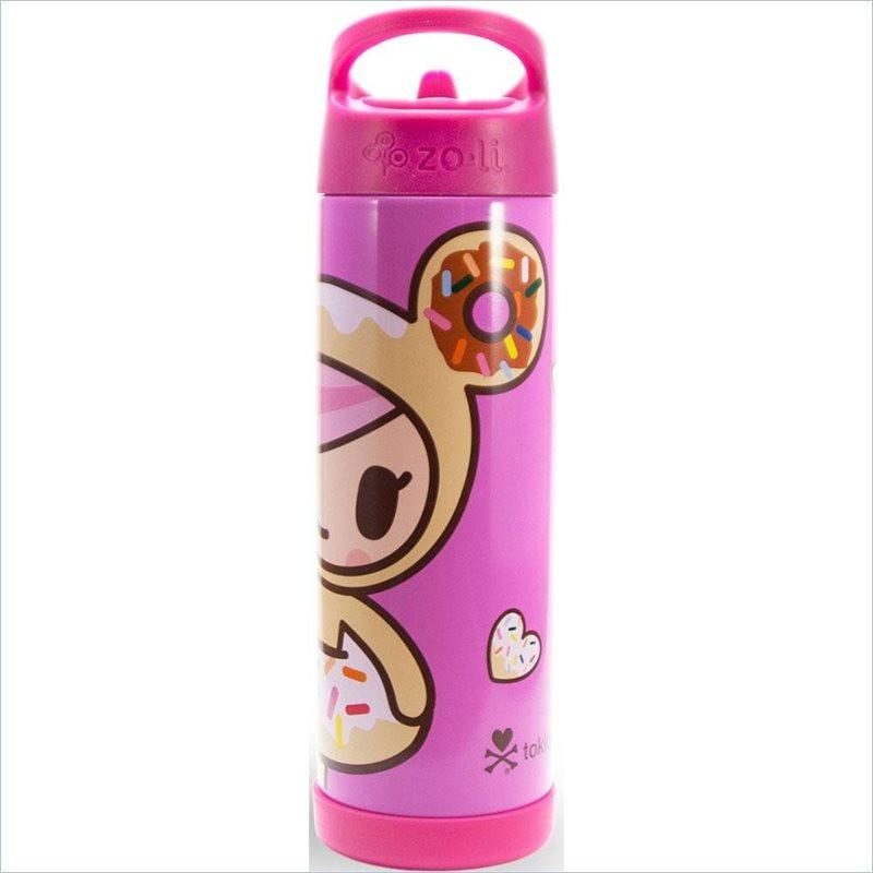 Zoli TokiPIP 16 oz Insulated Drink Bottle in Donutella