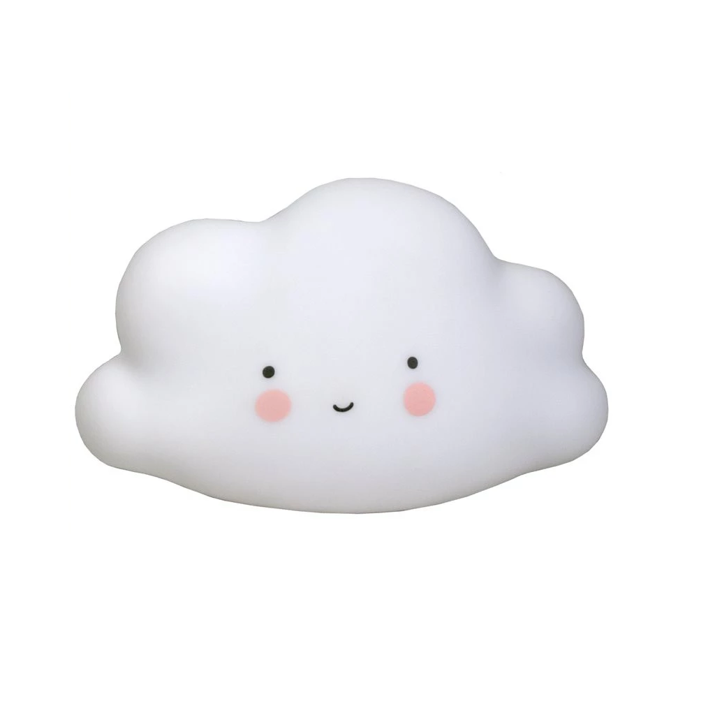 A Little Lovely Company Mini Cloud Light: White