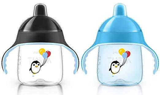 Philips AVENT - My Penguin Sippy Cup, 9oz, 2-Pack