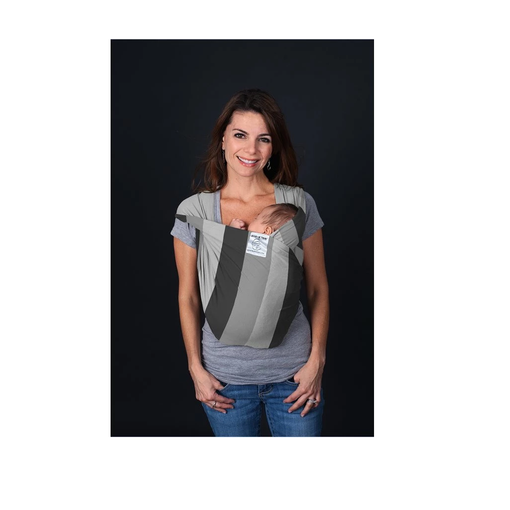 Baby K'tan Baby Carrier in Nifty Shades of Grey