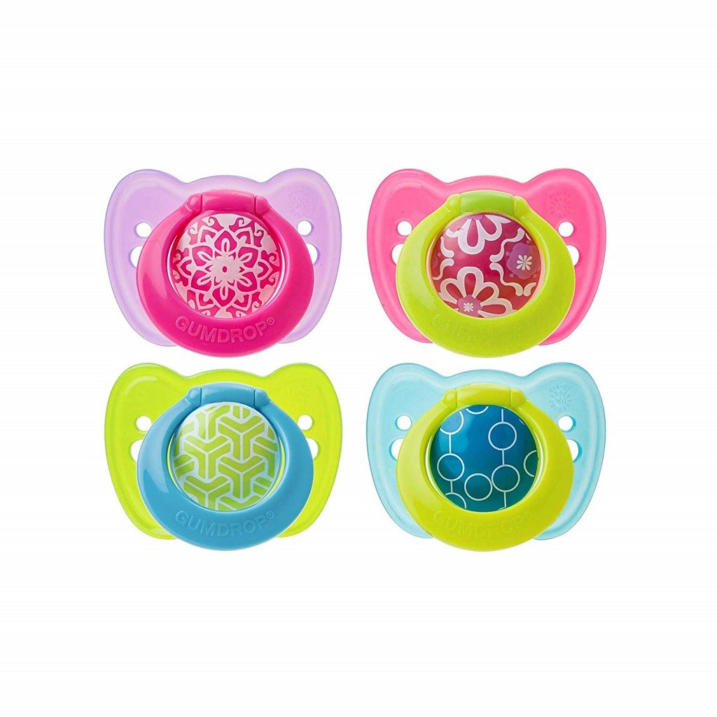 The First Years Gumdrop rtho Pacifier with Ring  (6-18m)