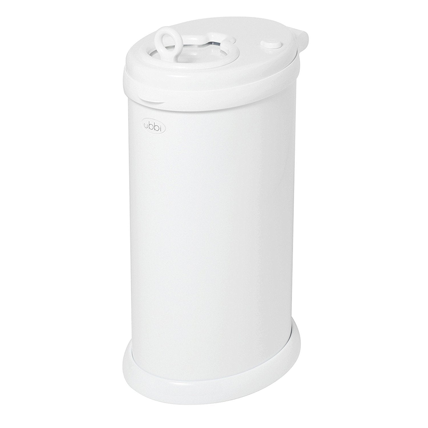 Ubbi Diaper Pail in White