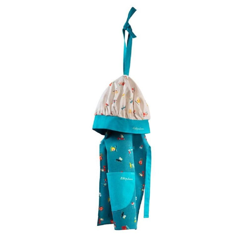 Lilliputiens Apron & chef's hat