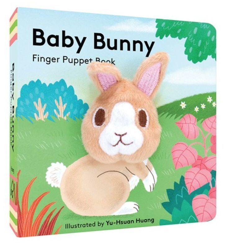 Rain Coast Books Baby Bunny Finger Puppet Book