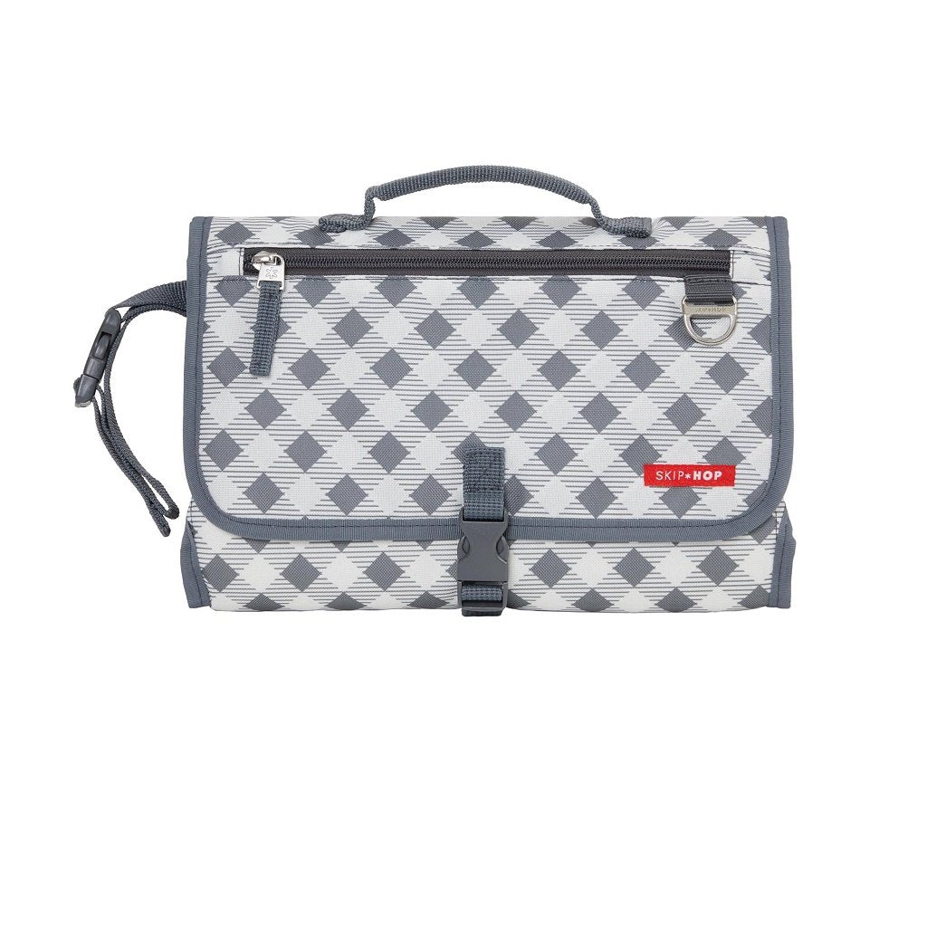Skip Hop Pronto Signature Changing Station in GREY GINGHAM