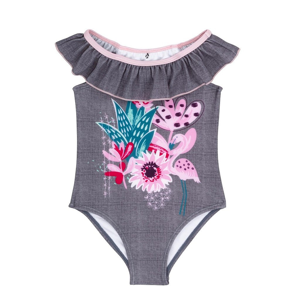 Minimome 1 Pc Swimsuit Cactus Flowers