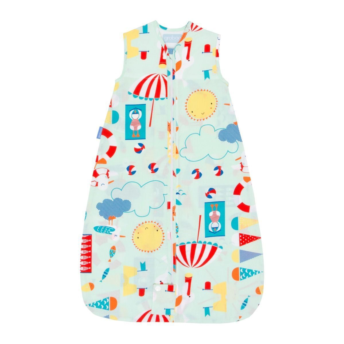Grobag Baby Sleeping Bags 0.5 Tog Beside the Sea