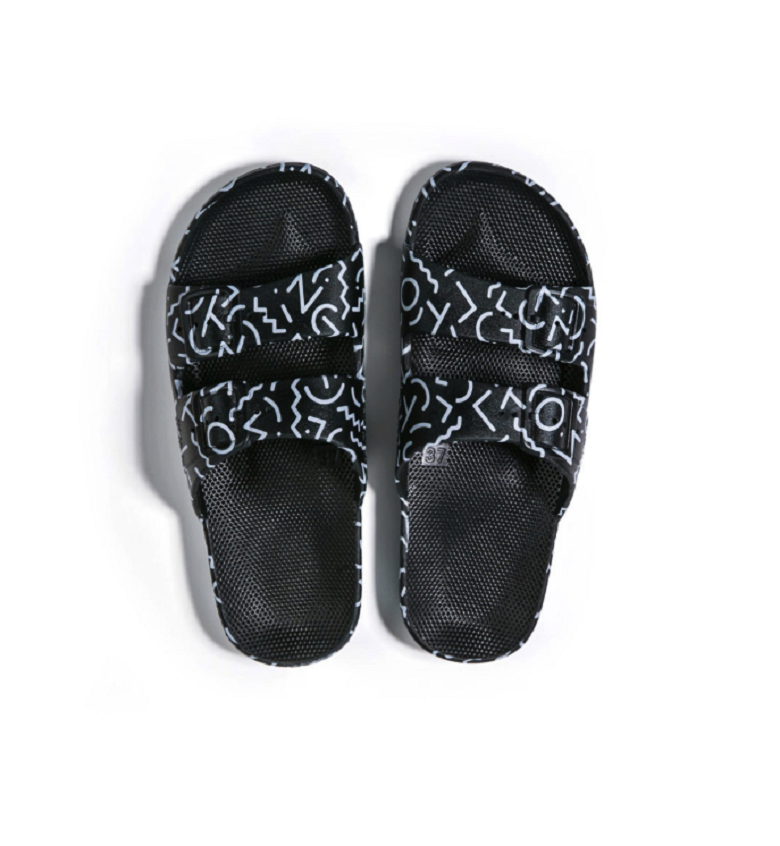 Freedom Slipper in Memphis Black