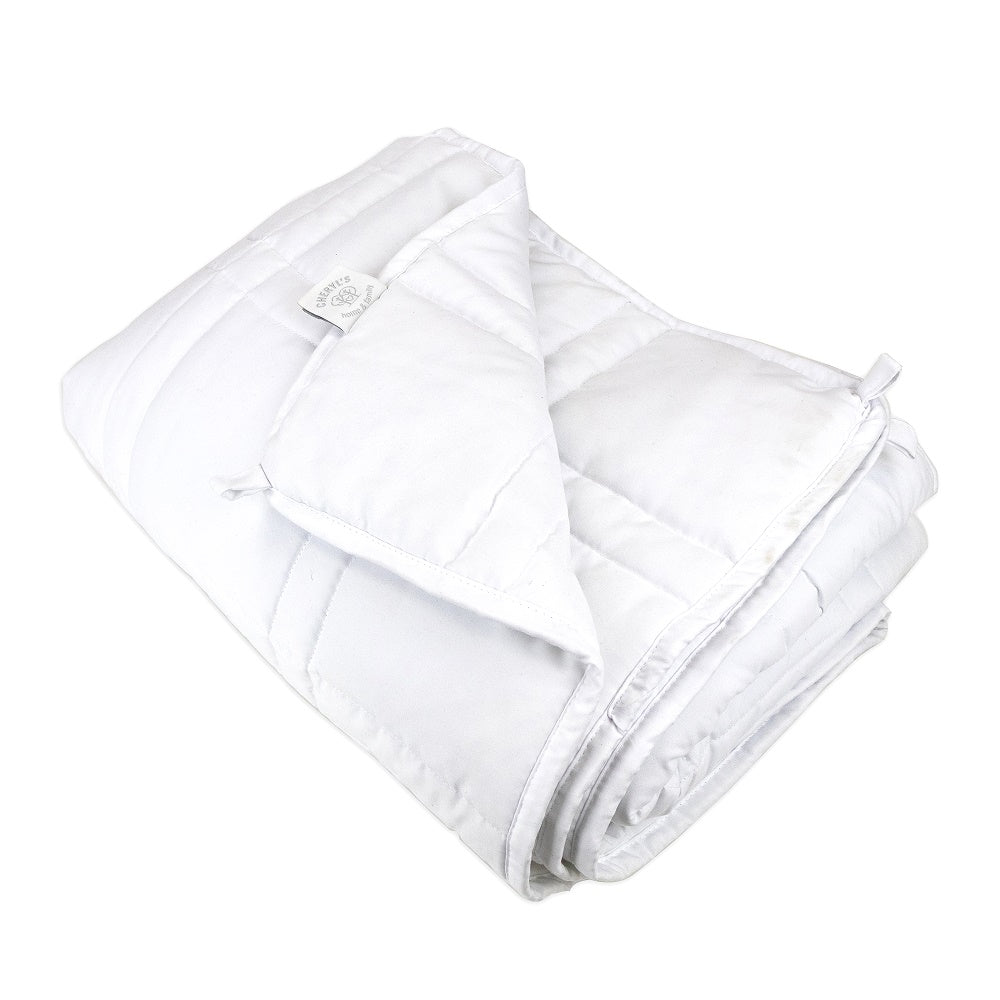 CHF The Huggler Weighted Blanket White 12lbs