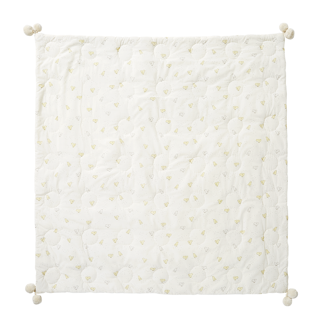 Pehr Chick Hatched Quilted Blanket