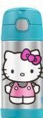 Thermos Foogo Licensed Funtainer Bottle - Blue Hello Kitty