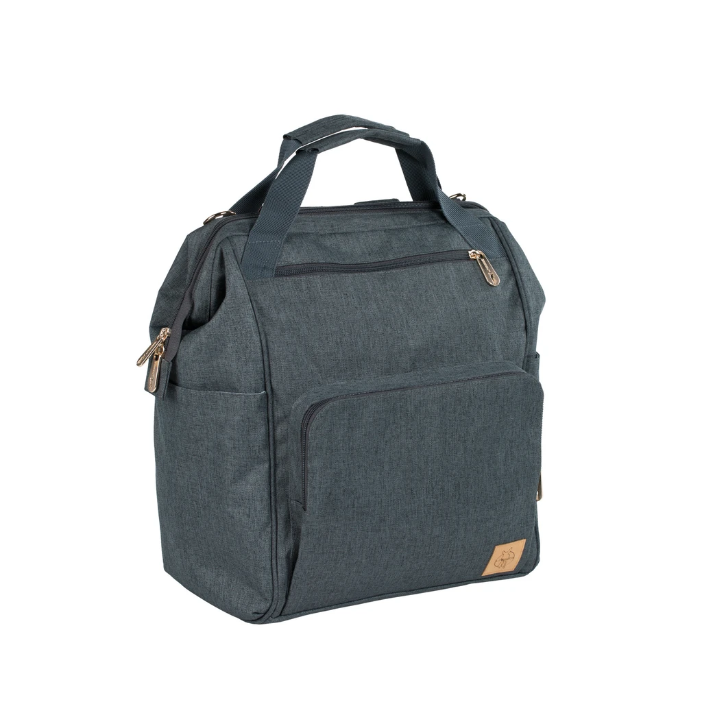 Lassig Glam Goldie Backpack in Anthracite