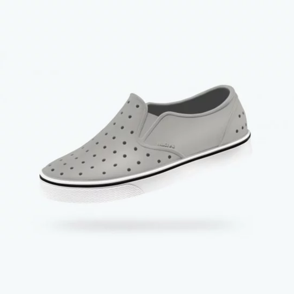 Native Shoes Miles Pigeon Grey/ Shell White