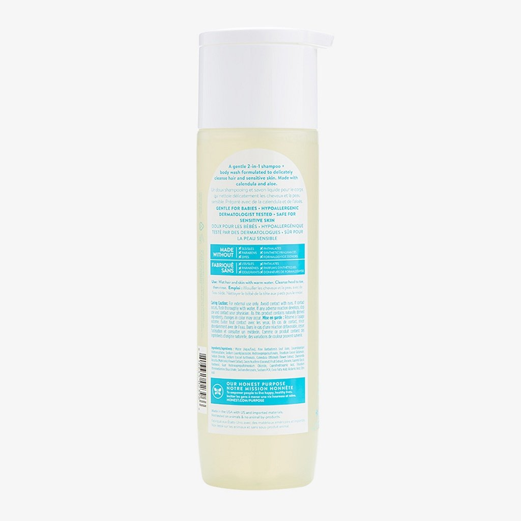 Honest Shampoo/Body Wash - Unscented