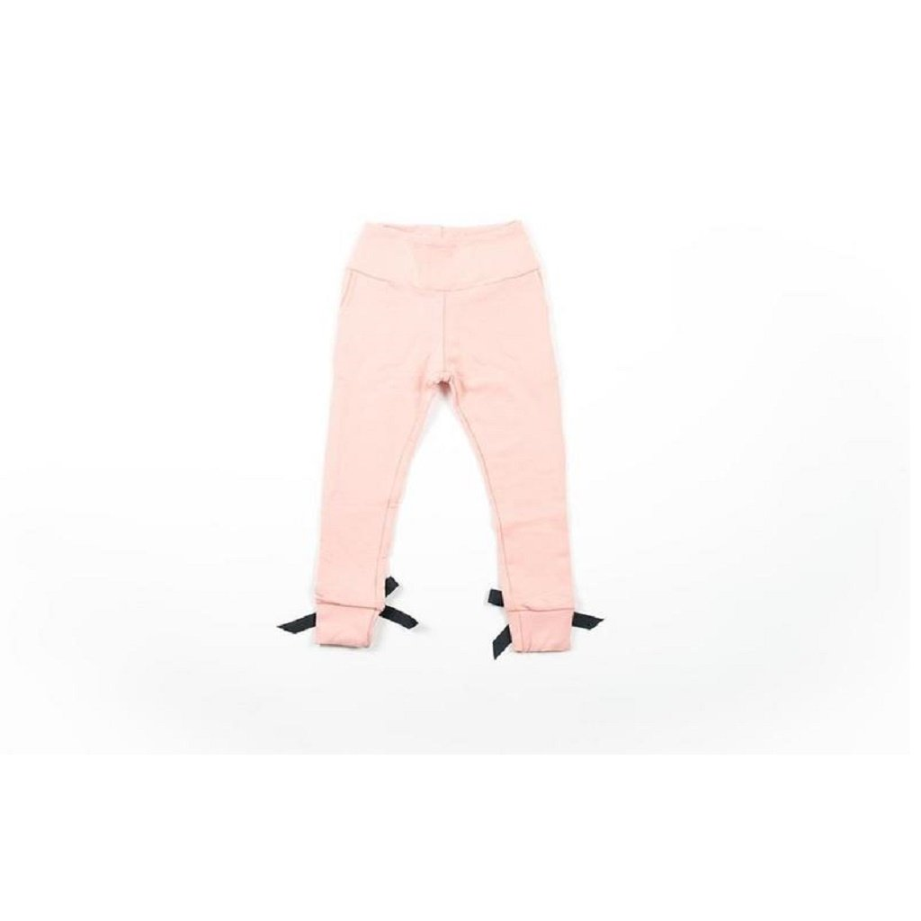 Hudson + Hobbs Bow Knot Sweatpant in Mellow Rose