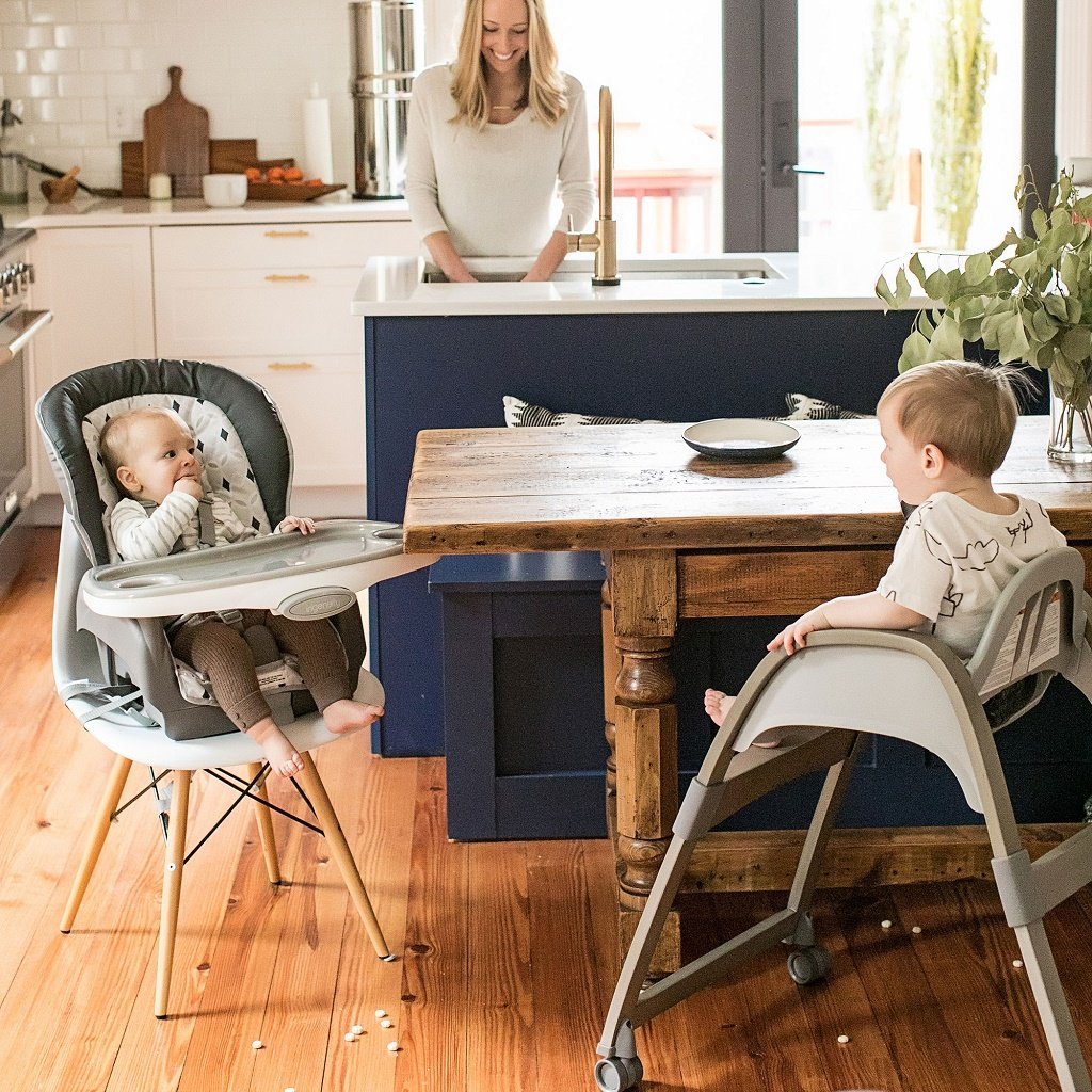 InGenuity Trio 3-in-1 Wood High Chair - Ellison