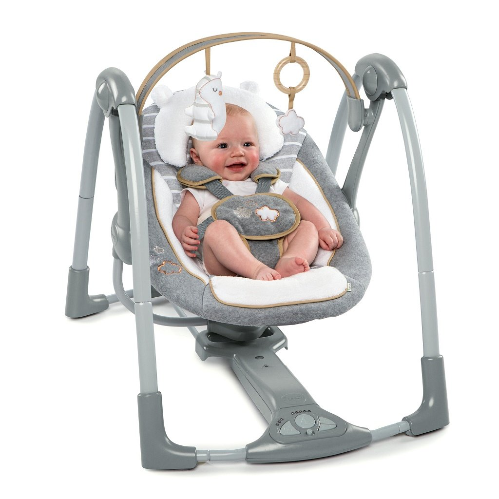 InGenuity Boutique Collection Swing 'n Go Swing Bella Teddy