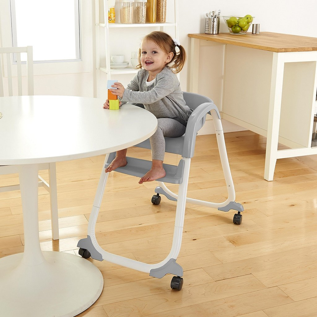 InGenuity SmartClean Trio Elite 3-in-1 High Chair Slate