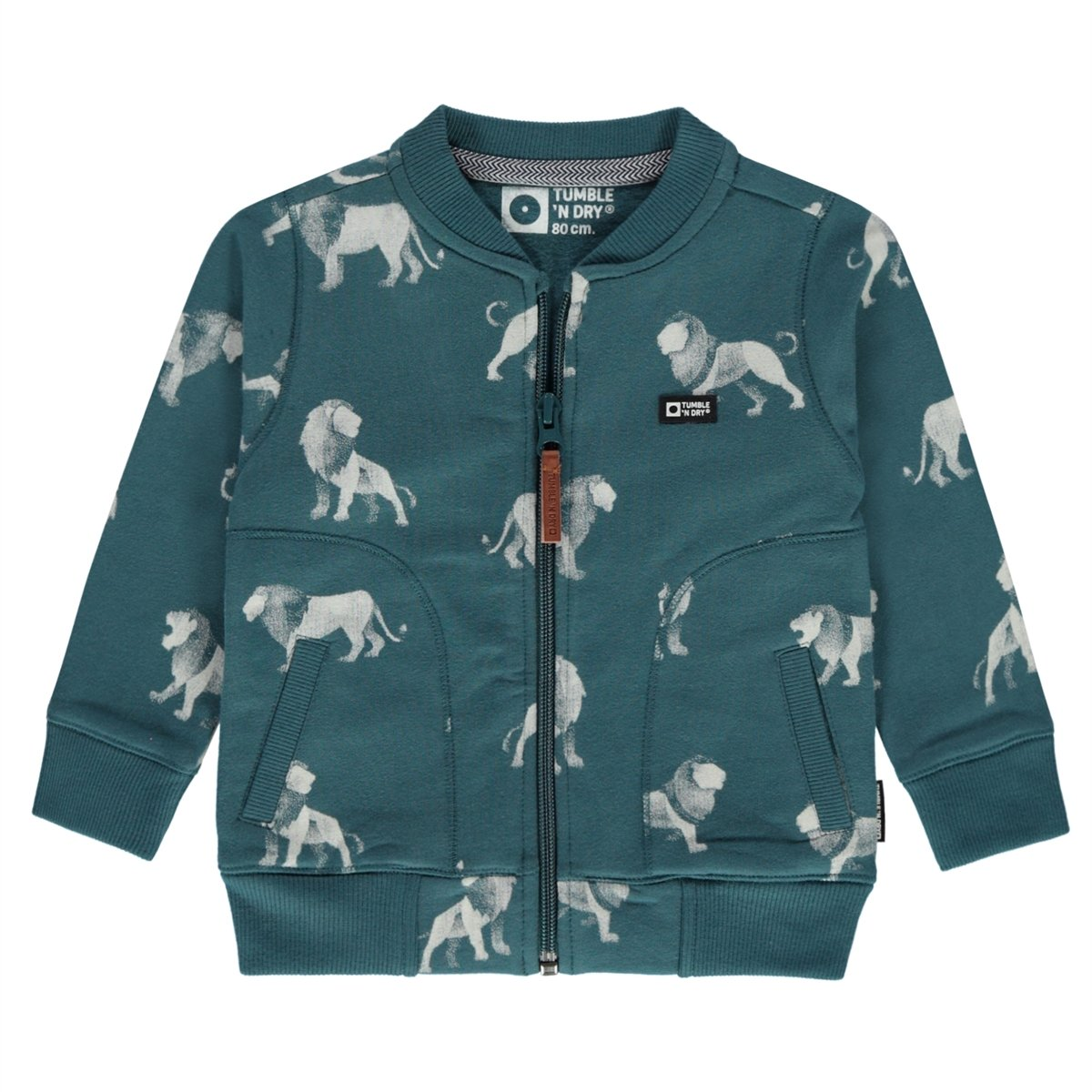 Tumble N Dry Krimme BOYS LO CARDIGAN in Green Petrol