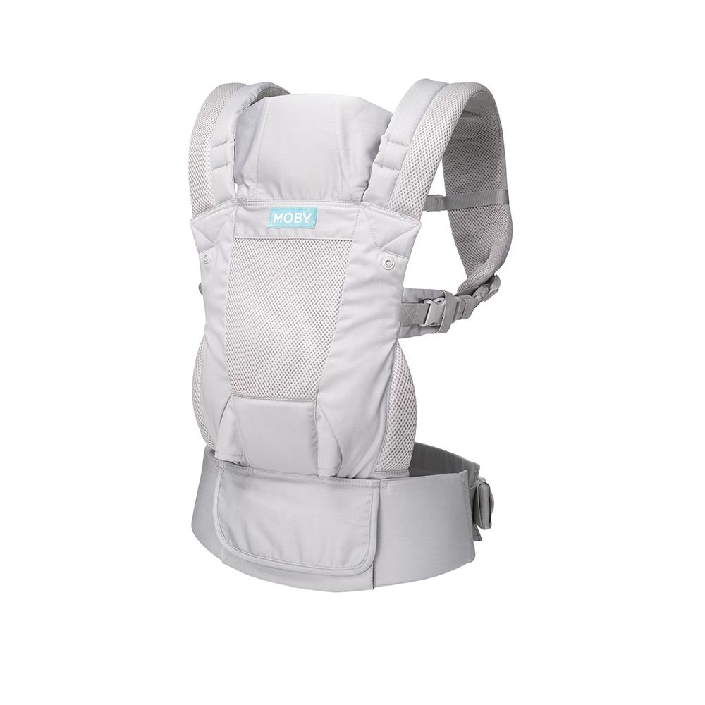 Moby Move 4 Position Carrier - Glacier Grey
