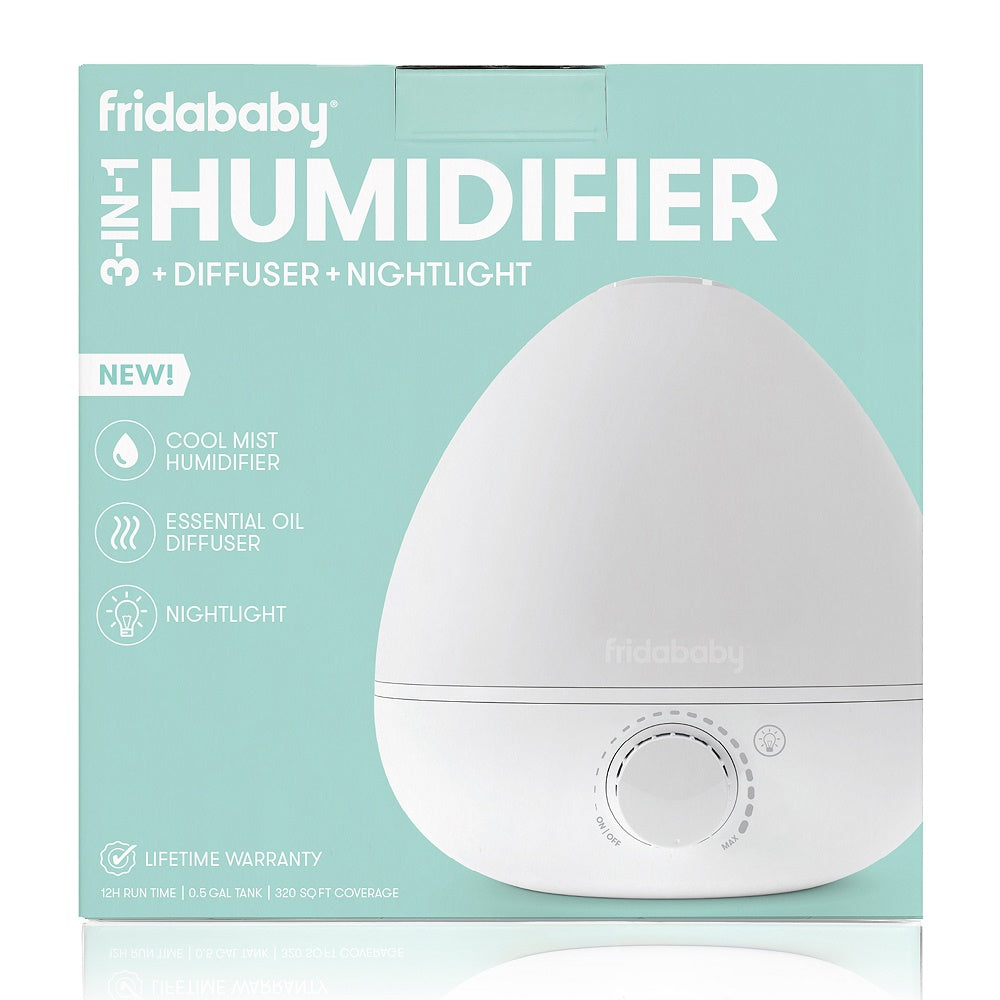 Fridababy BreatheFrida 3-in-1 Humidifier Diffuser Nightlight