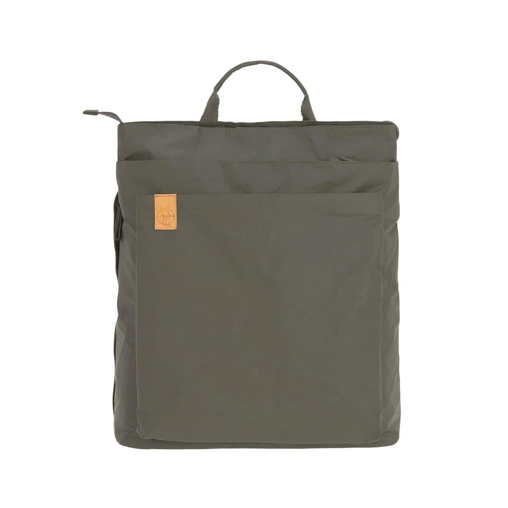 Lassig Green Label Diaper bag Tyve Backpack in Olive