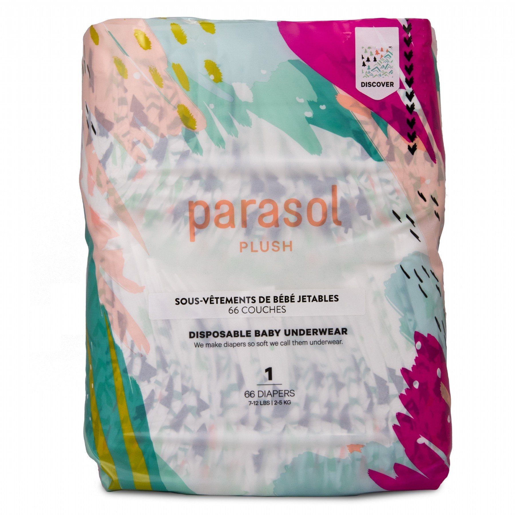 Parasol Co. Disposable Diapers (Size 3, 50 Pc)