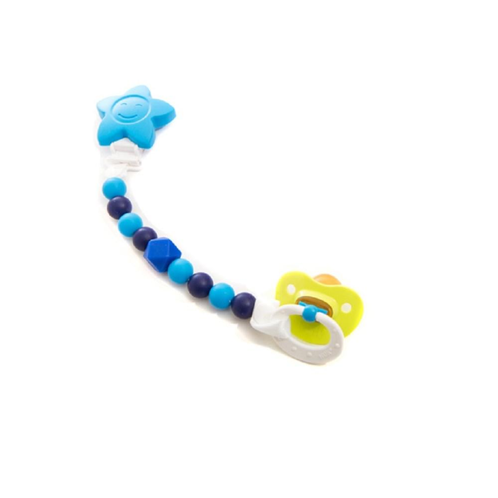 Petite Creations Star Silicone Pacifier Holder