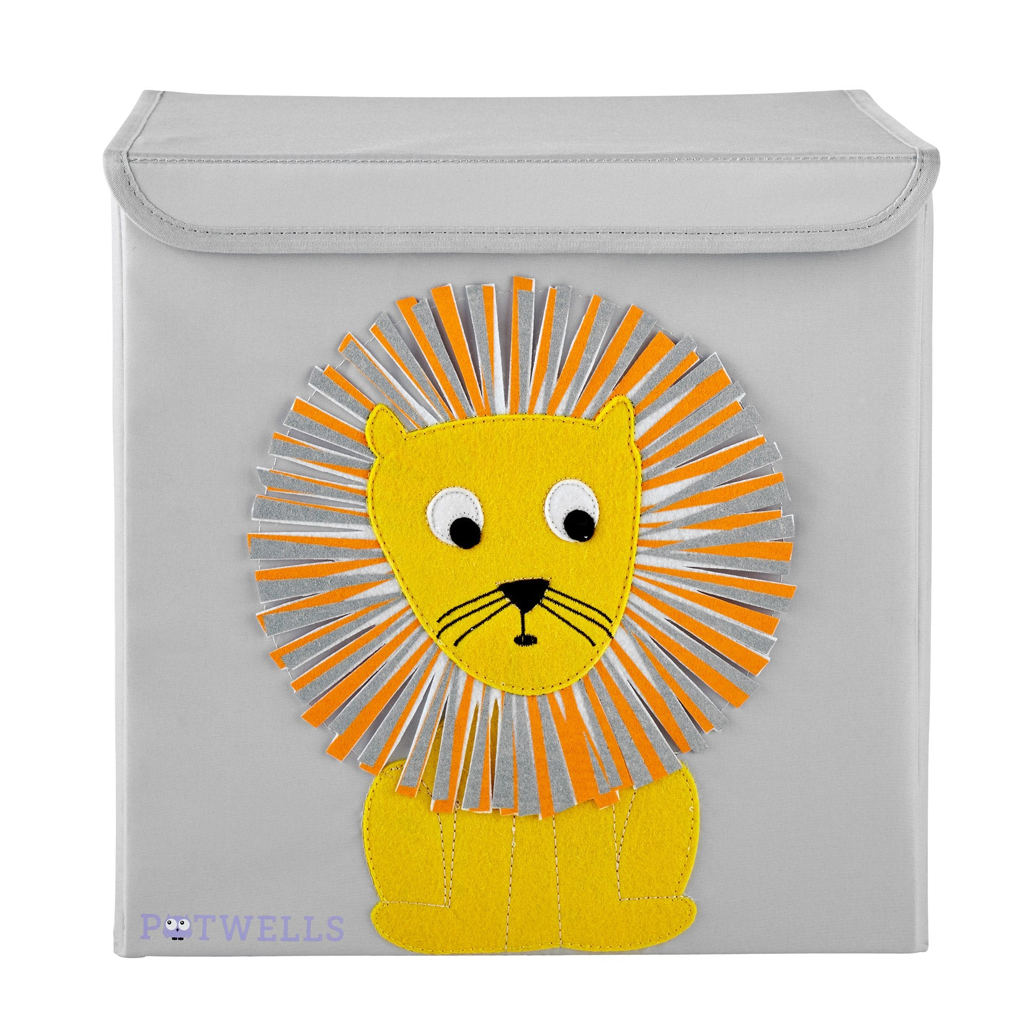 Potwells Storage Box - Lion