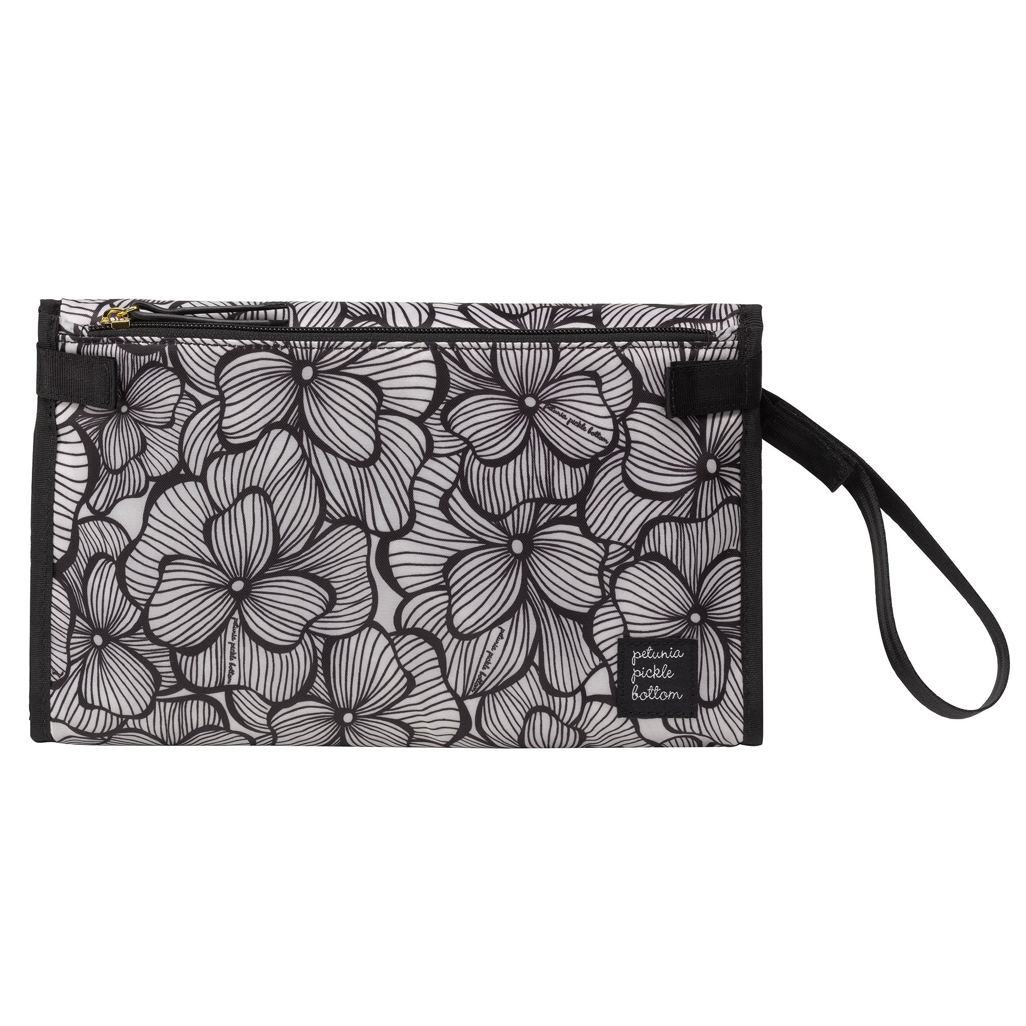Petunia Pickle Bottom Nimble Changer Clutch: Bordeaux Blooms