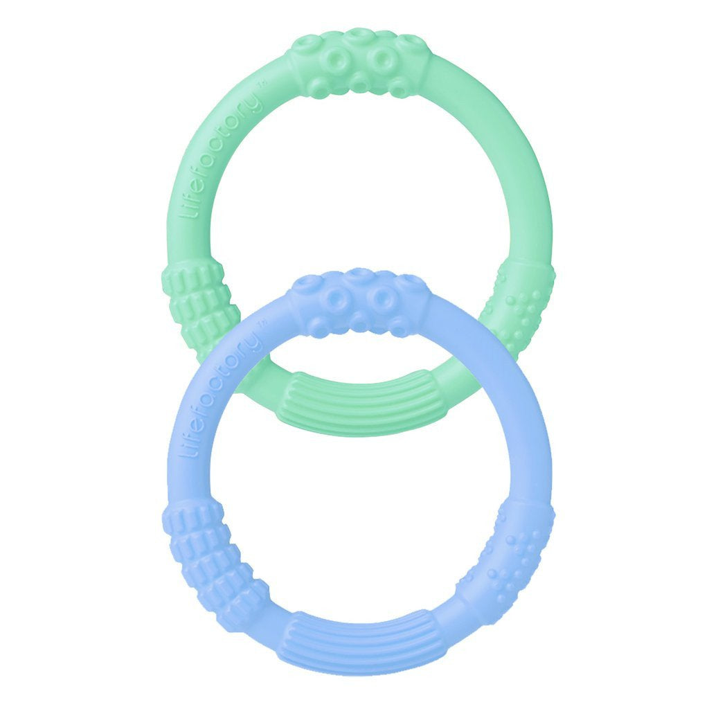 Lifefactory Teethers Mint/Blanket