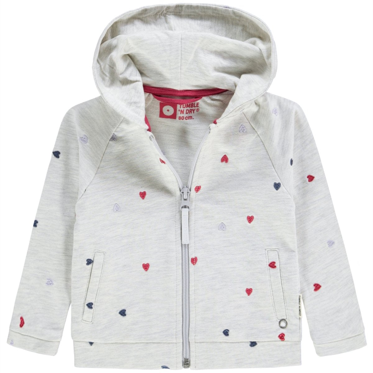 Tumble N Dry Tella GIRLS LO CARDIGAN in off white